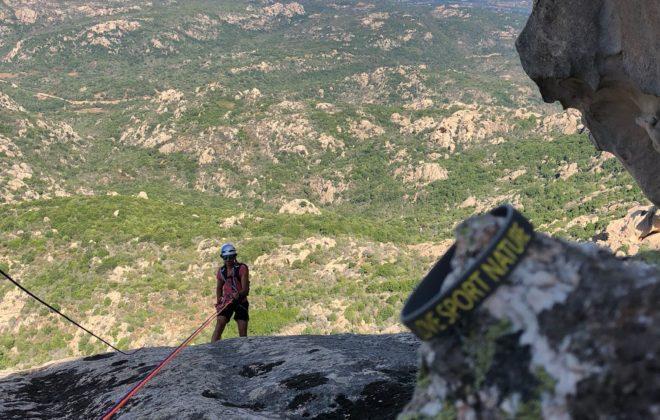 arrampicata CALATA IN CORDA
